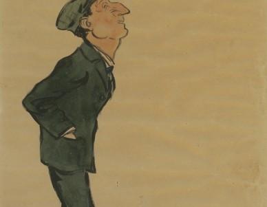 Caricatura de um utente