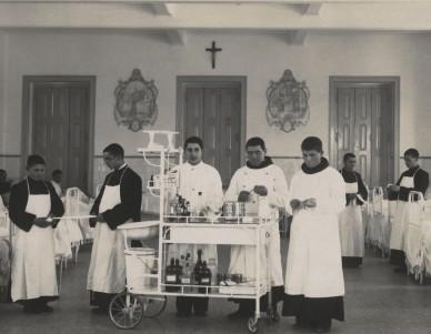 Grupo de Irmãos na Enfermaria